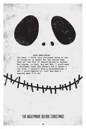 Grunge Minimalist Posters Illustrating Famous Movie Quotes - 9