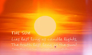 The sun – Daily quotes