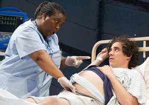Stephen Mangan in Birthday at The Royal Court Theatre
