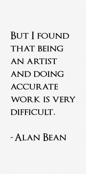 Alan Bean Quotes & Sayings