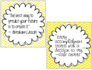 Inspirational Quote Mini-Posters