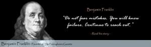 Author: Benjamin Franklin . Go Deeper   Website