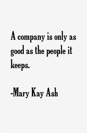 Mary Kay Ash Quotes & Sayings