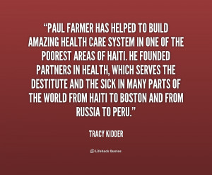 Paul Farmer Quotes