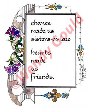 Sister in Law Quotes http://www.pic2fly.com/Annoying+Sister+in+Law ...