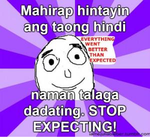 Tumblr Patama Tagalog Sobrang