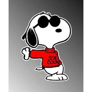 Snoopy Quot Joe Cool Quot Decal Snoopy Joe Cool