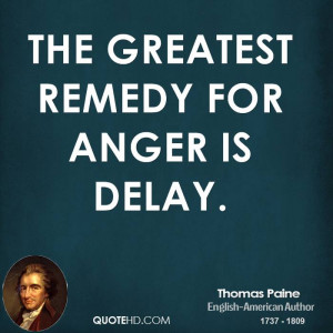 Thomas Paine Anger Quotes
