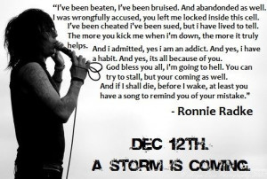 nothing lasts forever (ronnie radke,escape the fate)
