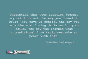 Quotes about Adoption shared every Wednesday.