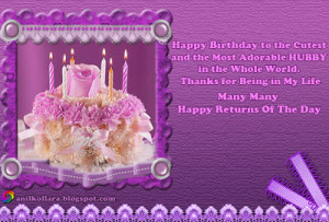 Happy Birthday Quotes Wishes In Purple. QuotesGram