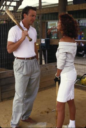 Still of Kevin Costner and Susan Sarandon in Bull Durham