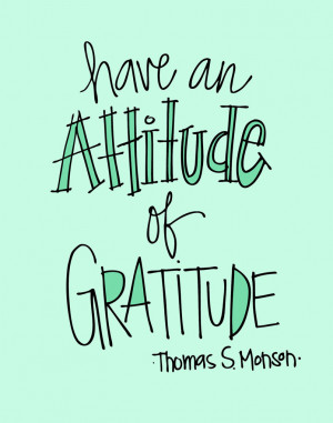Ways to Have an Attitude of Gratitude