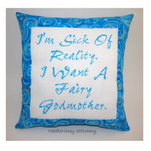 Godmother Quotes http://wanelo.com/p/2213168/funny-cross-stitch-pillow ...