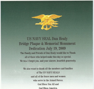 """Some Gave All"""" – Navy Seal Sr. Chief Petty Officer Daniel Healy of ..."""