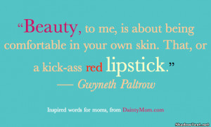 Red Lips Quotes And Sayings Beauty quotes & sayings