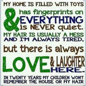 Super mom sayings;)