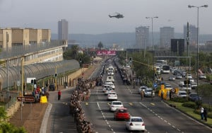 Nelson Mandela: Motorcade Takes Madiba's Body to Pretoria Union ...