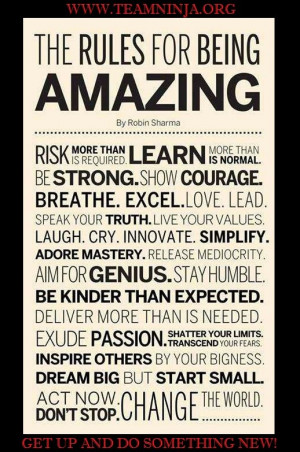 Are you an amazing person?