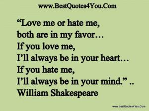 25+ Beautiful Loving Shakespeare Quotes