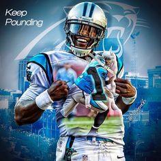 Cam Newton Keep Pounding