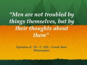 Epictetus - Stoic School
