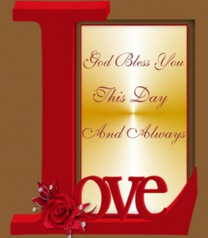 God Bless you this day!!!