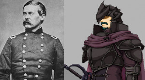 John Buford Union Civil War general and Bertram / Renning Fire Emblem ...