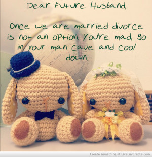 the only saw the protege of title dear future husband quotes