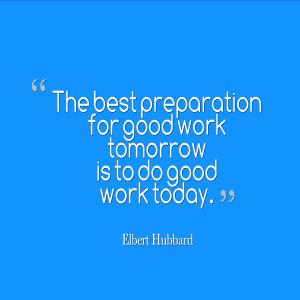 Preparation Quotes