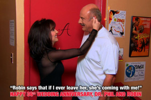 Happy Anniversary, Dr. Phil and Robin!
