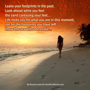 Inspirational Image: Footprints