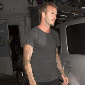 David Beckham's new tattoo quotes Jay Z