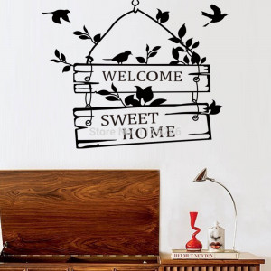 ... -Stickers-Quotes-Welcome-to-Sweet-Home-Removable-Decorative-Art.jpg