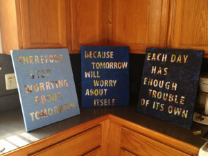 Canvas Quotes Diy My diy canvas quotes