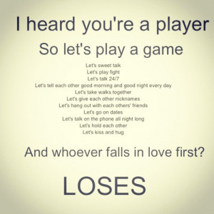 play #a #game #player #sweet #talk #insta #quote #lose #game #fall ...
