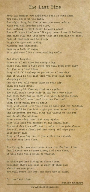 poem for parents, poem about children