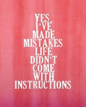 Bible Quotes About Making Mistakes Quotesgram