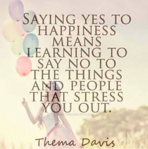 Say yes to happiness! #quotes