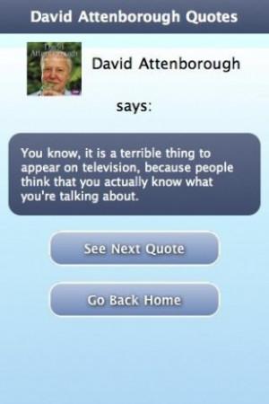 View bigger - David Attenborough Quotes for Android screenshot