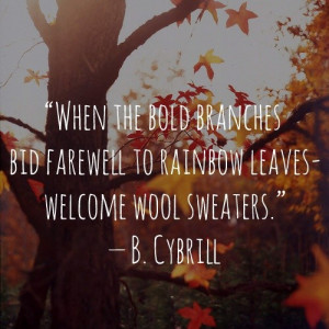 Thanksgiving, fall, autumn, quotes, sayings, b.cybrill