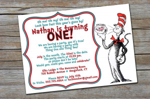Dr Seuss Quotes For Birthday Invitations