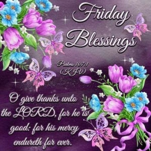 Friday blessing...