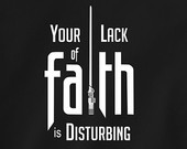 ... Lack of Faith is Disturbing. yoda holy spirit bible religious tee