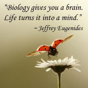 don't know about anybody else but biology gives me a headache and ...