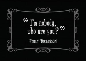 Delightfully Dark Quotes: Emily Dickinson