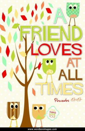 Bible friendship