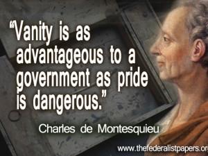 Baron De Montesquieu Quotes http://www.thefederalistpapers.org/baron ...