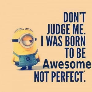 ... Minion! (OK, well, Cherie's Minion, actually, but I think you all know