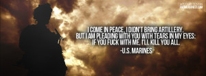 Marines Kill You All Facebook Cover